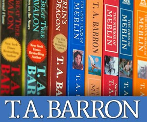 Free T.A. Barron Gift Boxes for Educators