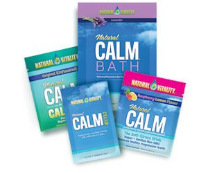 Free Sample of Natural Vitality Products