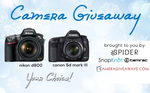 The January Camera Giveaway
