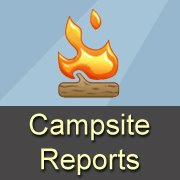 Free Campsite Reports Bumper Sticker Or Magnetic Sign