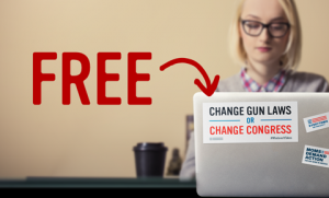 Free Change Gun Laws Or Change Congress Sticker