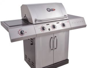 GiveawayGorilla Charbroil Gourmet 3 Burner Gas Grill Giveaway