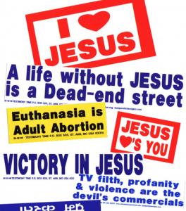 Free Christian Bumper Stickers