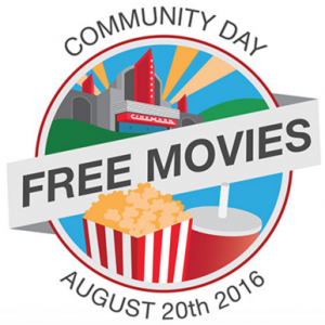 Cinemark Community Days - Free Movies