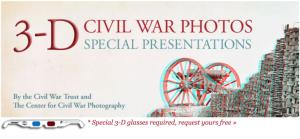 Free 3-D Glasses From Civil War Trust