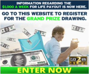 Click2Win - Enter To Win $1,000 A Week For Life