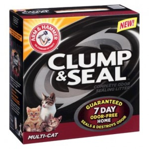 Possible Free Arm & Hammer Clump & Seal Cat Litter