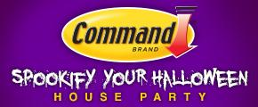 Command Brand Spook-ify Your Halloween House Party