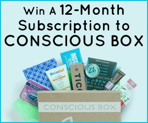 Enter To Win A 12 Month Conscious Box Subscription