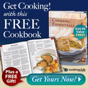 Free 168 Page Cooking Essentials Cookbook From Cooking Club Of America