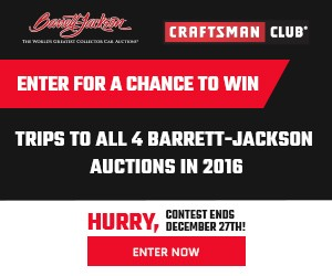 Craftsman Barrett-Jackson Sweepstakes