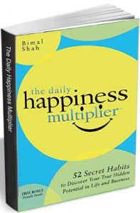 "Free eBook: ""The Daily Happiness Multiplier"""