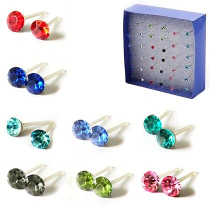 Free Pair Of Crystal Stud Earrings