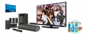 """Enter To Win A Bose Entertainment System, 50"""" TV, $200 Visa Gift Card, And More"""