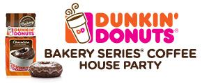 Dunkin' Donuts Bakery Series Coffee House Party
