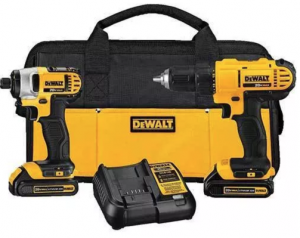 Enter To Win A DEWALT 20v Lithium Drill Driver/Impact Combo Kit