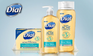 Free Sample Of Dial Acne Control Face Wash and Body Wash