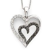 Enter To Win A Diamond Heart Pendant Necklace