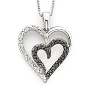 Enter To Win A Diamond Heart Pendant Necklace