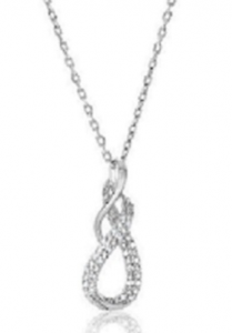 Enter To Win A Diamond Infinity Pendant