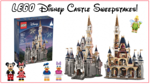 LEGO Disney Castle Sweepstakes