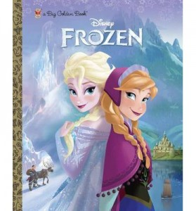 Free Disney Frozen Big Golden Book From TopCashBack