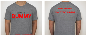 "Free ""Don't Be A Dummy"" Tee Shirt From Tork Law Firm"
