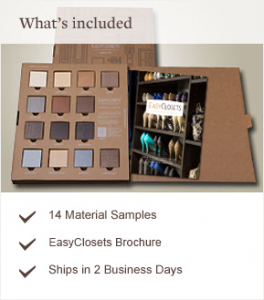 Free Easy Closets Sample Kit