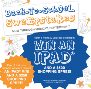 Elder-Beerman Back To School Sweepstakes