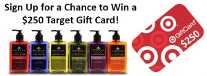 Essenze $250 Target Gift Card Giveaway