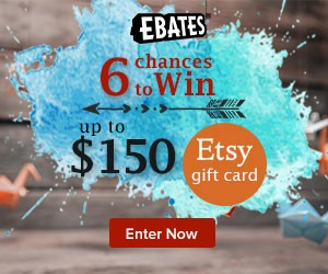 ebates Etsy Gift Card Giveaway