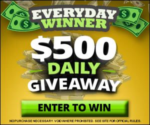 Everyday Winner - $500 Daily Giveaway