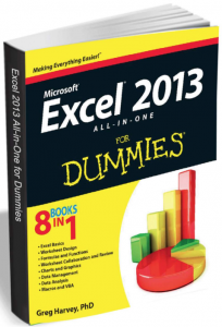 "Free eBook: ""Excel 2013 All-in-One for Dummies (8 Books in 1)"" A $22.99 Value"