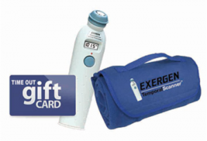 The Exergen Covers You Sweepstakes