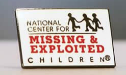 Free Lapel Pin From The National Center For Missing & Exploited Children