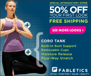 Fabletics - 50% Off Your First Look + Free Shipping!