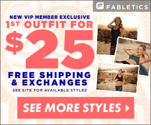 Fabletics 2 Piece Outfit For $25 + Free Shipping