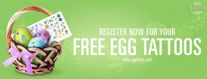 Free Fiora Egg Decorating Tattoos Plus Contest