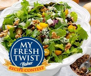 "Fisher Nuts ""My Fresh Twist"" Recipe Promotion"