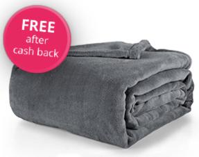 TopCashBack - Free Fleece Blanket