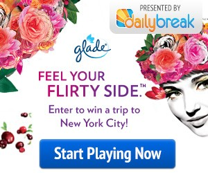 Daily Break Glade Feel Your Flirty Side Challenge