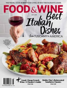Free Six Month Subscription To Food & Wine Magazine