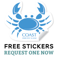 Free Coast Apparel Stickers