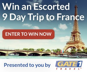 Enter To Win A Nine Day Trip To France For Two