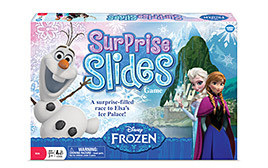 Enter To Win 1 of 5 Copies Of Disney Frozen Surprise Slides Game