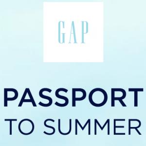 GAP Passort to Summer Sweepstakes