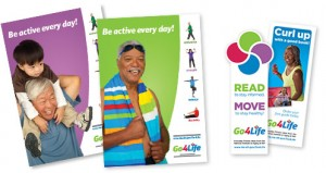 Free Go4Life Exercise Guide, DVD, Bookmarks, and Posters