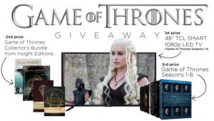 Game of Thrones Pledge Your House Allegiance Contest