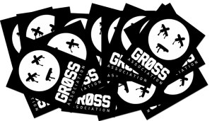 Free Gross Association Stickers
