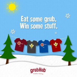 GrubHub Summer T-Shirt Sweepstakes (Winter Version)